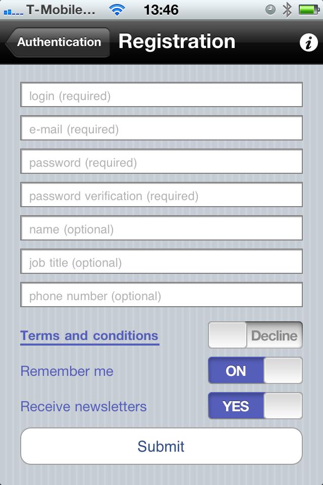 neta reports iphone app